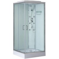 Душевая кабина BelBagno UNO-CAB-A-2-80-P-Cr-TOP